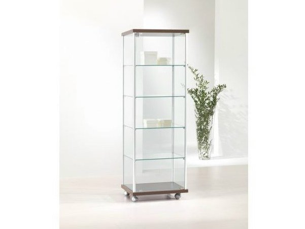 Retail display case with casters VE53/14 | Retail display case - Castellani.it