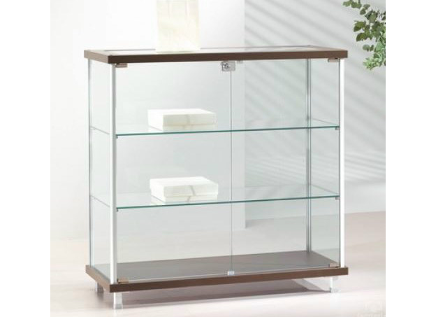 Retail display case with casters VE93/B | Retail display case - Castellani.it