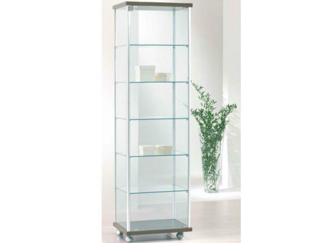 Retail display case with casters VE53/A | Retail display case - Castellani.it