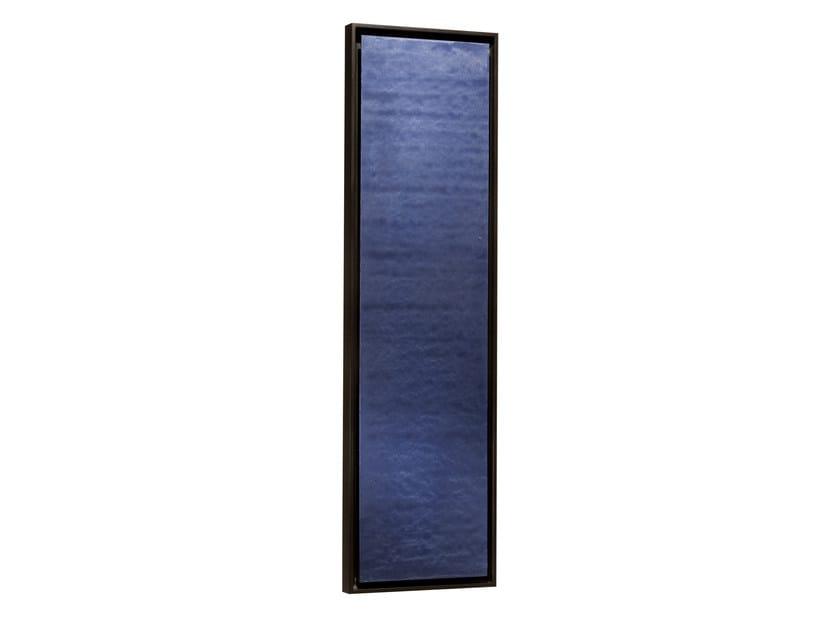 Vertical panel Olycale® radiator GREENOR UNI BLEU - CINIER Radiateurs Contemporains