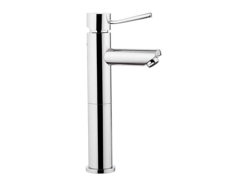Countertop 1 hole washbasin mixer without waste MINIMAL | Washbasin mixer - Remer Rubinetterie
