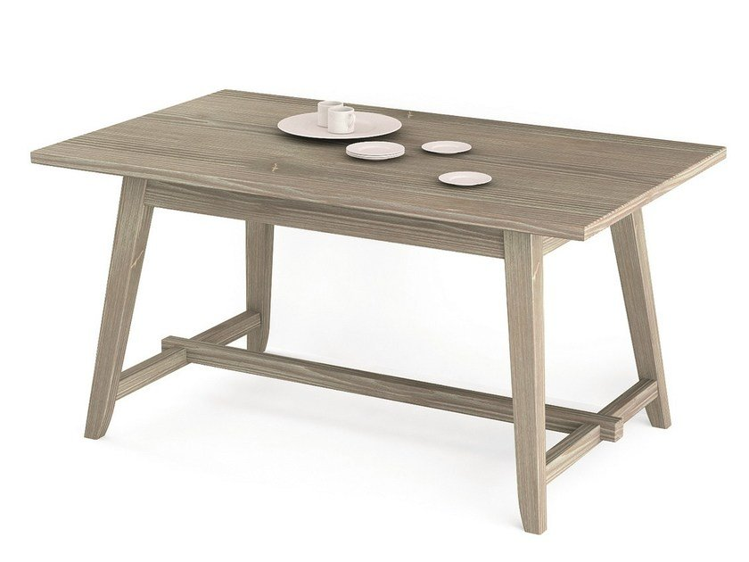 Rectangular wooden table MAESTRALE | Rectangular table by Scandola Mobili