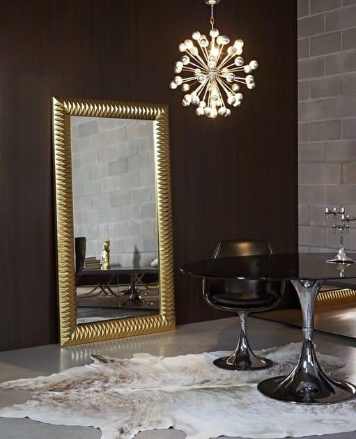 Classic style rectangular framed mirror NICK | Rectangular mirror - DEKNUDT MIRRORS