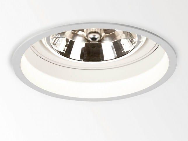 Adjustable ceiling recessed spotlight TWEETER ST D 111 S1 by Delta Light