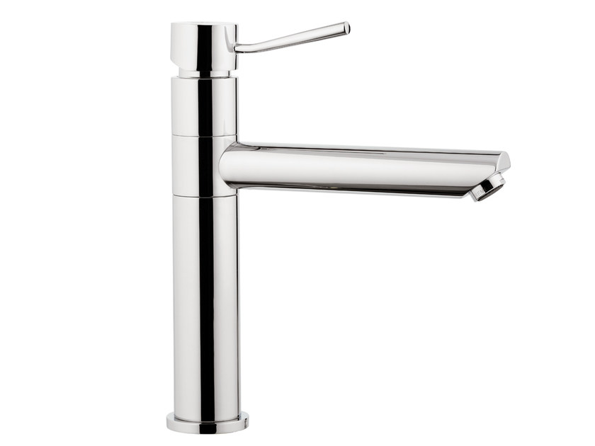 Countertop kitchen mixer tap with swivel spout MINIMAL | Kitchen mixer tap - Remer Rubinetterie