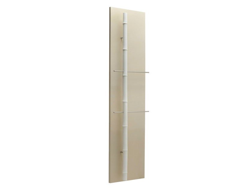 Vertical Olycale® towel warmer BAMBOU CLAIR - CINIER Radiateurs Contemporains