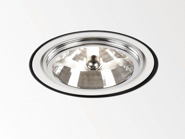 Ceiling recessed spotlight TWEETER TRIMLESS 111 - Delta Light