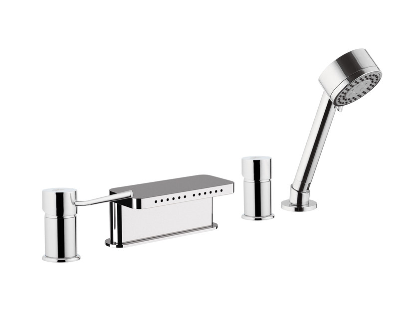 Bathtub set with hand shower MINIMAL | Bathtub set - Remer Rubinetterie