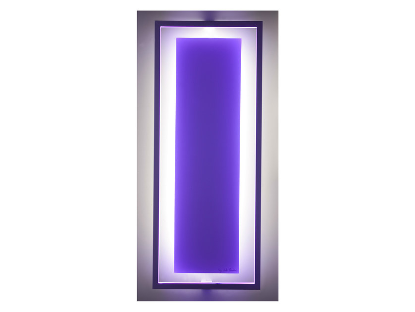 LED indirect light wall lamp UNI LT - CINIER Radiateurs Contemporains