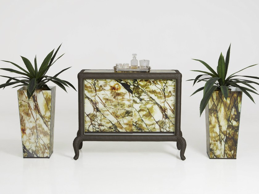 Garden cabinet CANOPO | Garden cabinet - Samuele Mazza Outdoor Collection by DFN