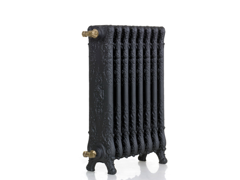 Termoarredo in ghisa a pavimento triomphe by cinier for Radiateur contemporain