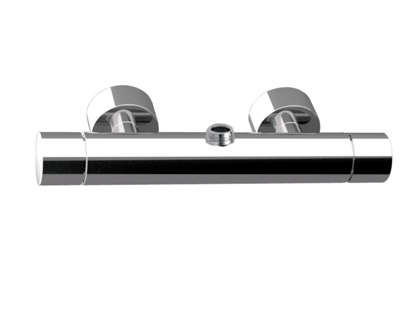 Single handle thermostatic shower mixer MINIMAL THERMO | Thermostatic shower mixer - Remer Rubinetterie