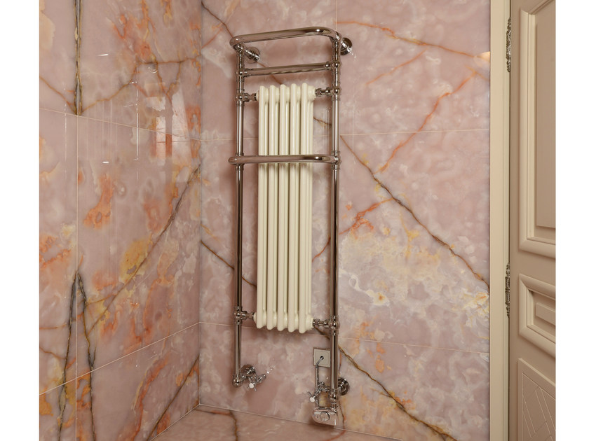 Wall-mounted cast iron towel warmer VICTOR S1R - CINIER Radiateurs Contemporains