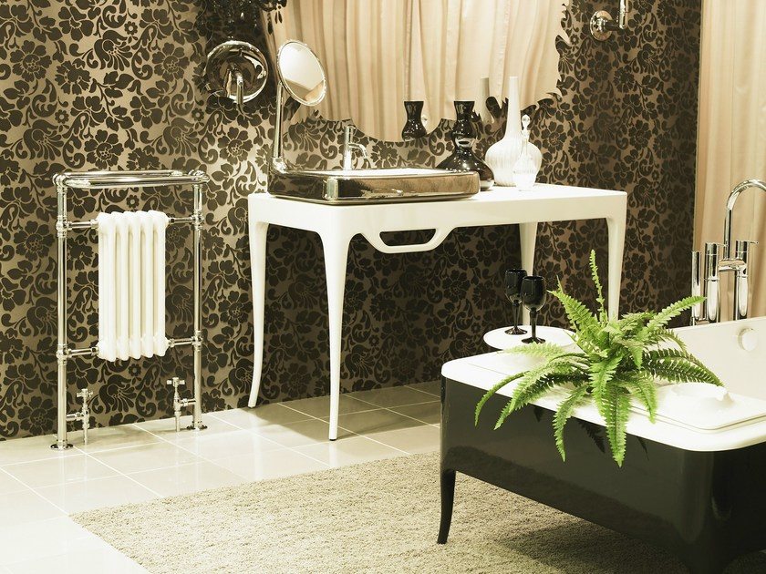 Chrome cast iron decorative radiator CHARLES - CINIER Radiateurs Contemporains