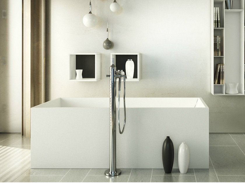 Rectangular bathtub CORAL TUB - DIMASI BATHROOM by Archiplast