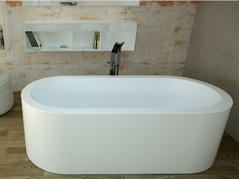 Oval bathtub SAPPHIRE TUB - DIMASI BATHROOM by Archiplast
