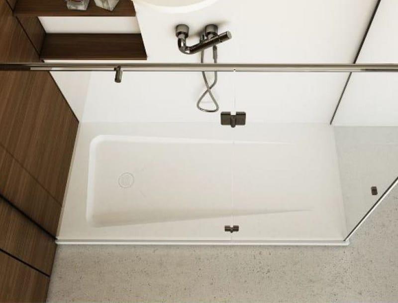 Rectangular shower tray ZERO - DIMASI BATHROOM by Archiplast
