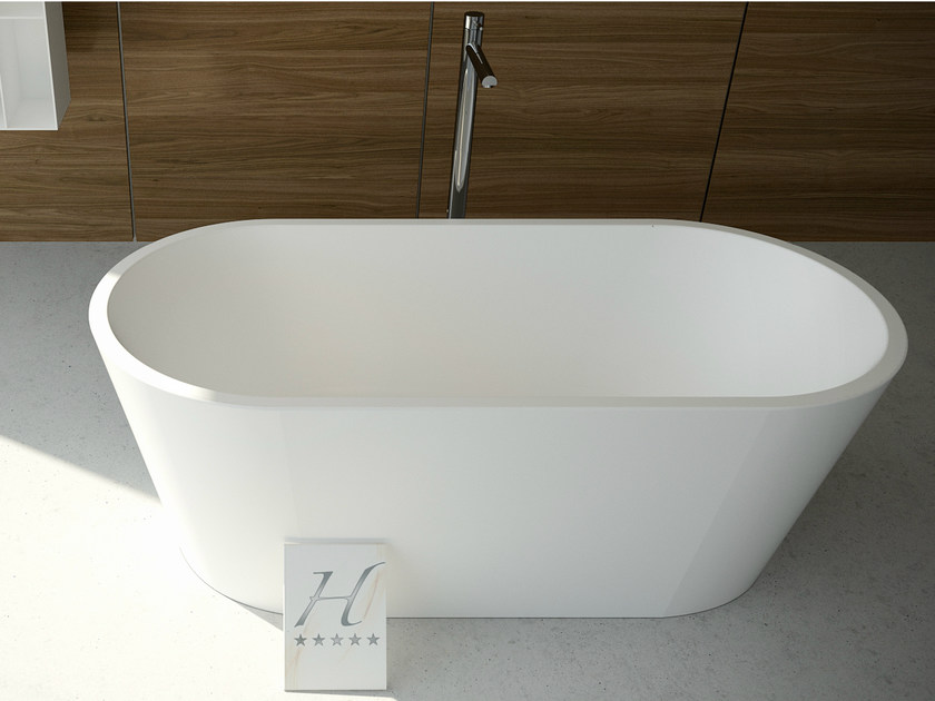 Oval bathtub DIAMOND TUB - DIMASI BATHROOM by Archiplast