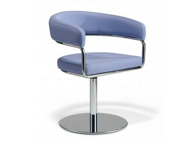 Swivel chair with armrests RUBINO | Swivel chair - Castellani.it