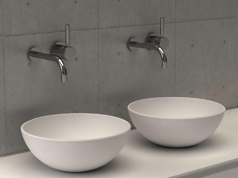 Countertop round washbasin GOLD BASIN 3 - DIMASI BATHROOM by Archiplast