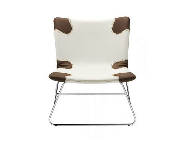 Imitation leather armchair PATCH COUNTRY - Castellani.it