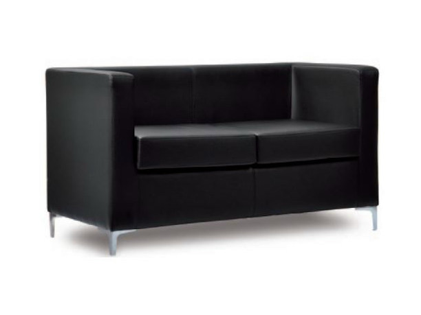 2 seater imitation leather leisure sofa CUBO | Sofa - Castellani.it