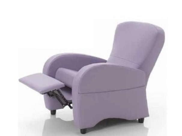 Upholstered recliner armchair with removable cover 314 | Armchair - Castellani.it