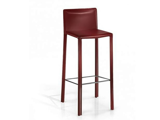 Tanned leather chair VENICE   Chair by Castellani.it