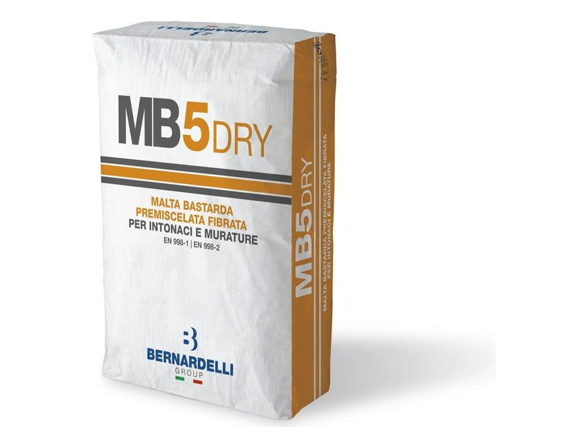 Mortar for masonry MB5DRY by Bernardelli Group