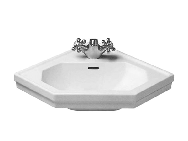 Corner wall-mounted ceramic handrinse basin SERIE 1930 | Wall-mounted handrinse basin - DURAVIT