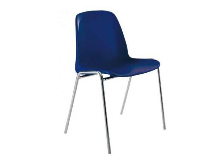 Stackable plastic chair AMALFI by Castellani.it