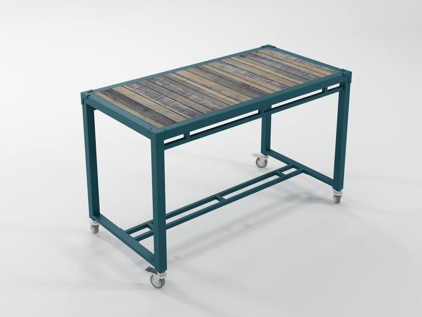 Metal table / writing desk AK- 14 | Writing desk by KARPENTER