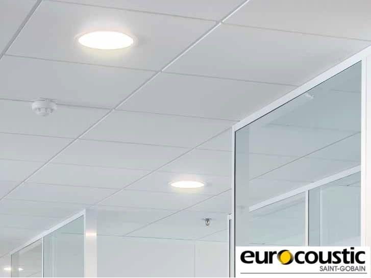 Acoustic rock wool ceiling tiles SAMOA® E - Saint-Gobain Gyproc