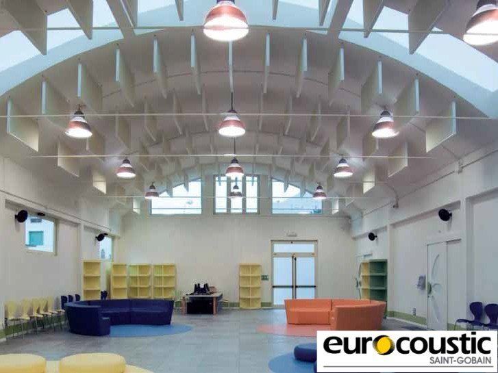 Other materials acoustic baffles EUROBAFFLE® - Saint-Gobain Gyproc