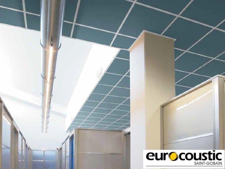 Acoustic rock wool ceiling tiles FIDJI® - Saint-Gobain Gyproc