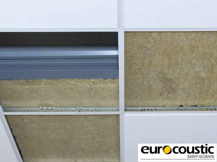 Rock wool Sound insulation and sound absorbing panel in mineral fibre EUROLÈNE® - Saint-Gobain Gyproc