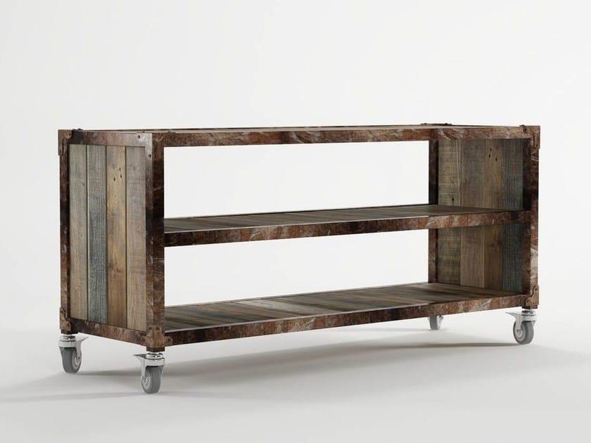 Wooden TV cabinet / sideboard AK- 14 | TV cabinet - KARPENTER