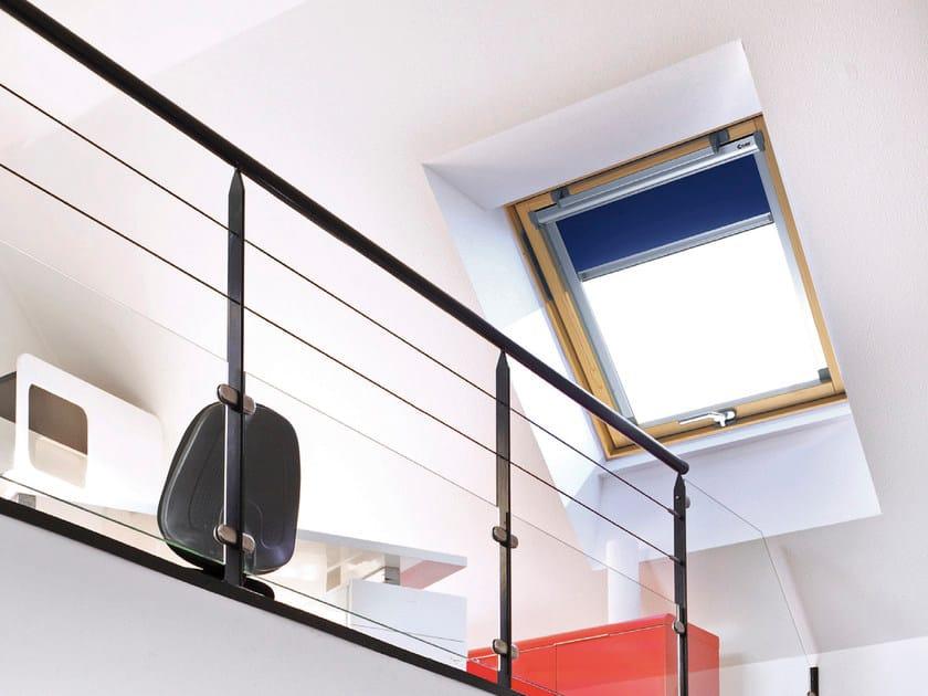 Tenda per finestre da tetto in tessuto per interni tenda per finestre da tetto per interni claus - Finestre per interni ...