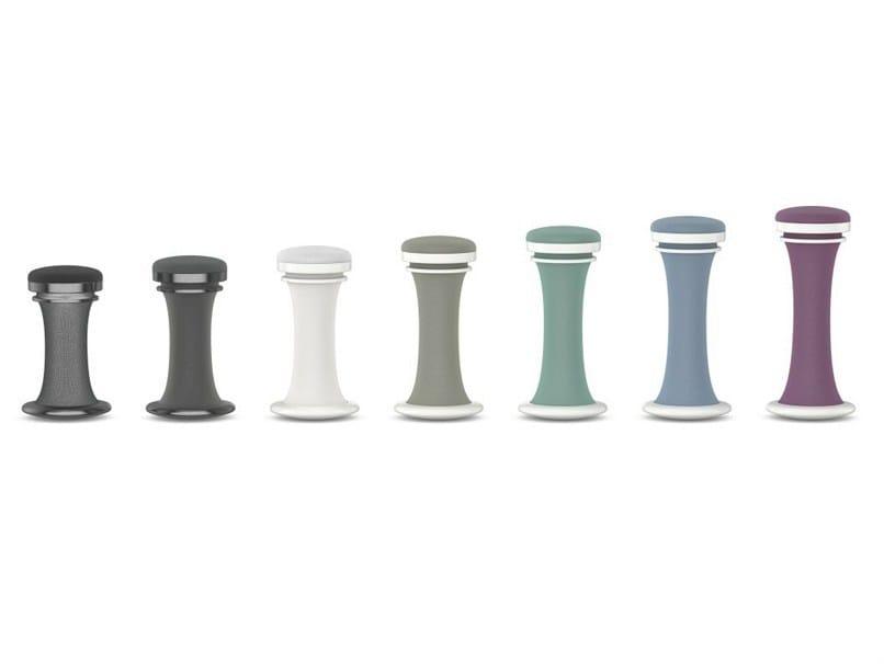 Height-adjustable upholstered stool DRESS | Height-adjustable stool - Brunner