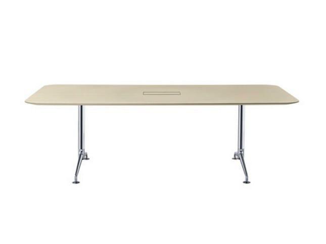 Modular folding meeting table FINA FLEX CONFERENCE - Brunner