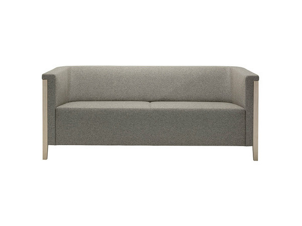 2 seater fabric sofa COLLAR | Fabric sofa by Brunner