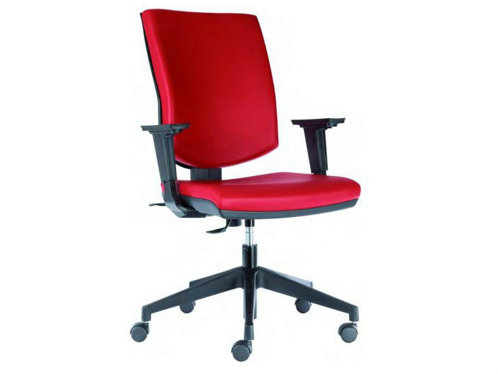Height-adjustable task chair with casters GOLF - Castellani.it