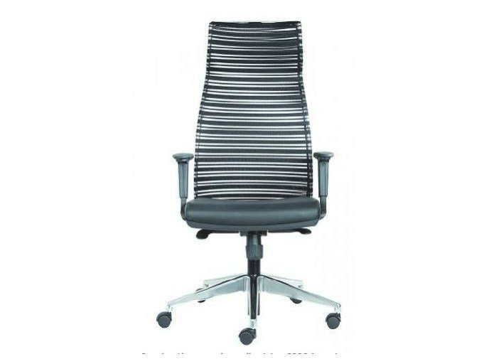Height-adjustable task chair with casters PRESTIGE by Castellani.it