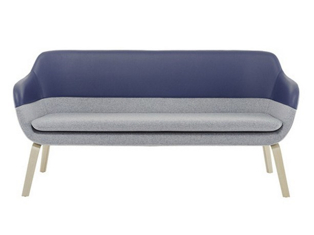 2 seater sofa CRONA | 2 seater sofa by Brunner