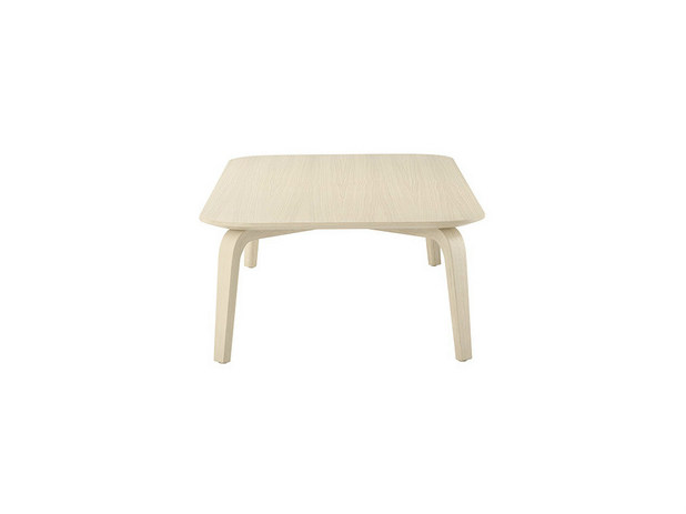 Low square coffee table CRONA | Square coffee table - Brunner