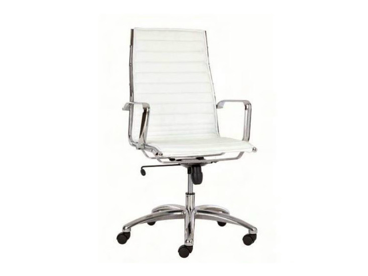 High-back executive chair with 5-spoke base TEKNIK-T - Castellani.it