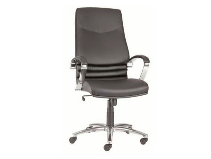 Executive chair with 5-spoke base with casters VENUS | Executive chair - Castellani.it