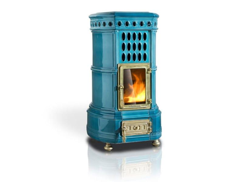 Pellet ceramic stove GRAN PELLET - LA CASTELLAMONTE STUFE