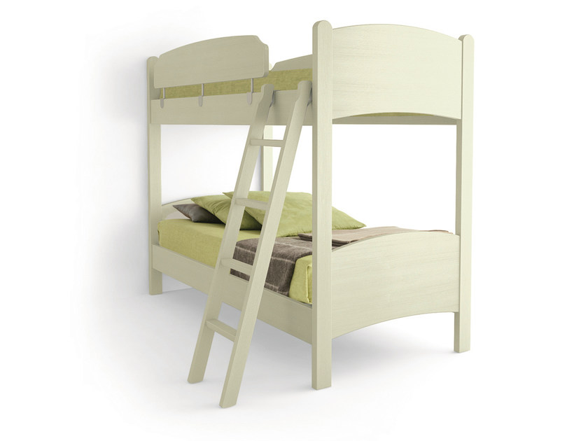 Wooden bunk bed LUNA | Bunk bed by Scandola Mobili