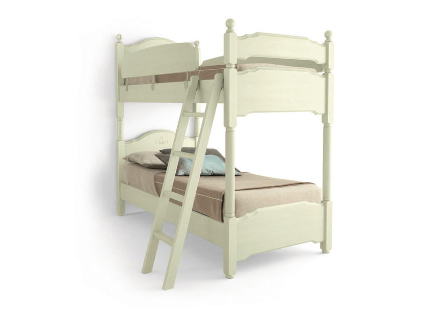 Wooden bunk bed ERIKA | Bunk bed by Scandola Mobili